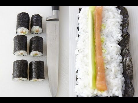 Technique de cuisine : rouler les makis