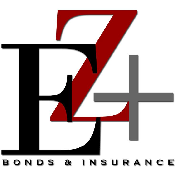 EZ+ Bonds & Insurance logo created by Sabrina Gonzalez