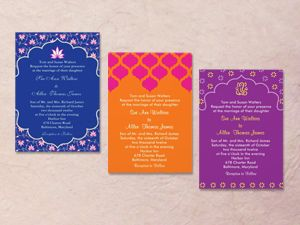 Hindu Color Palette Colorful Indian Wedding Invitation Palettes Once A Upon Time Long From Now Pinterest