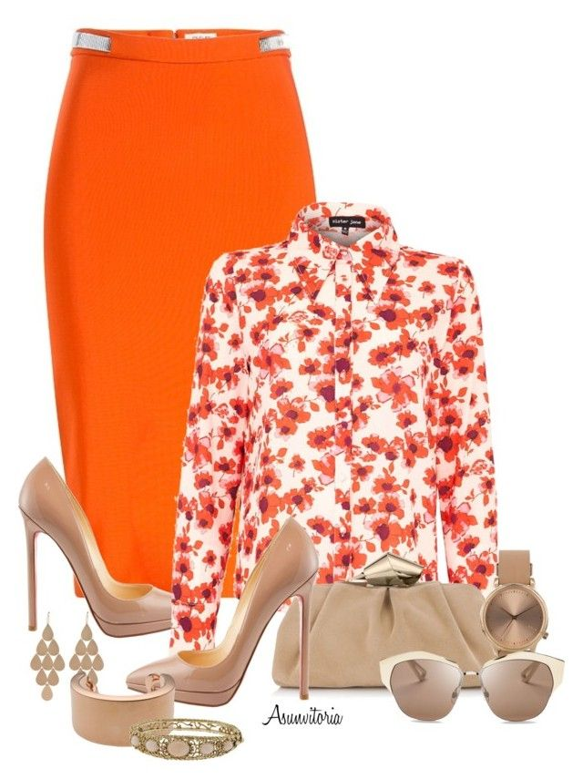 Sin título #1836 by asunvitoria on Polyvore featuring polyvore, fashion, style, Sister Jane, Christian Louboutin, Jimmy Choo, Topshop, Maison Margiela, Irene Neuwirth, Christian Dior and clothing