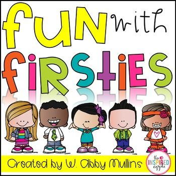 ***Best Seller! 10 Back to school activities!***Fun with Firsties got a makeover on June 27, 2013. If you already own this product, you can re-download it for free!This is an activity-filled printable to use to kick off a great start to first grade!Inside you will find...- Title Page {p.1}- Note/Table of Contents {p.2}-First Grade Survey {p.3-4}-Jitter Juice poem & activities {p.5-9}-Activity Instructions {p.10}-Find-A-Friend Icebreaker Game {p.11-13}-First Grade Friends class Book Cover ...