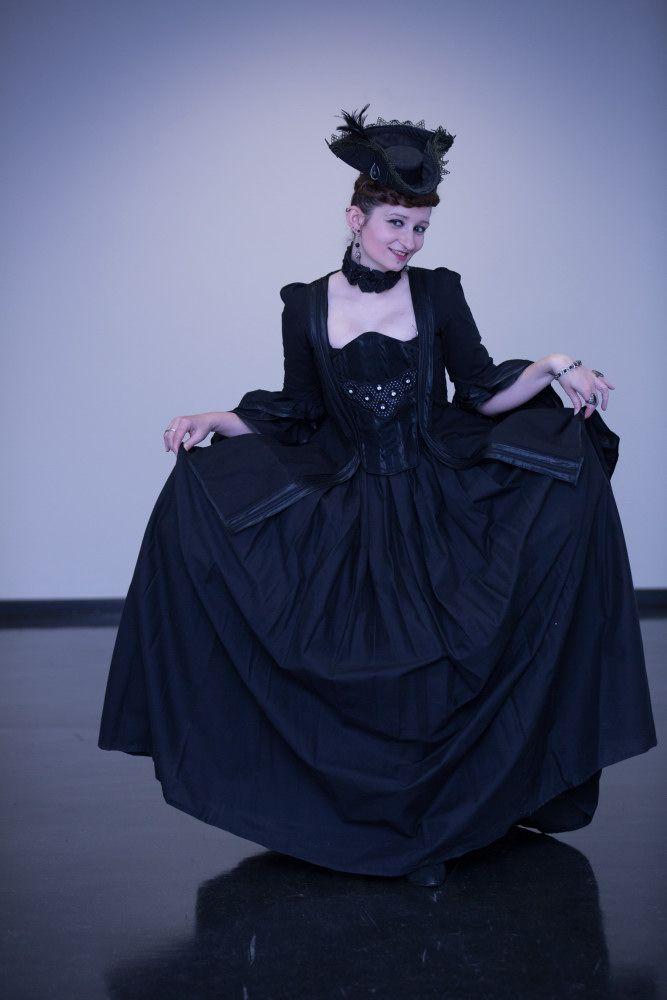 rokoko, rococo, black, gothic,