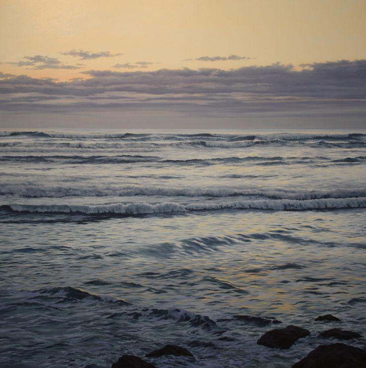 West Horizon by Merv Brandel #oiloncanvas #adelecampbellgallery