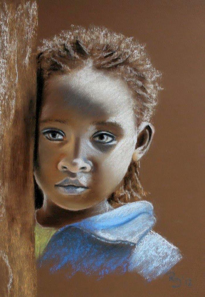 Картины пастелью. Renate Dohr