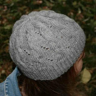 """""""Hermione's Hat"""", designed from a screenshot from """"Harry Potter and the Half-Blood Prince"""", only I will be doing the hat in red. And a different guage. Which is complicated."""