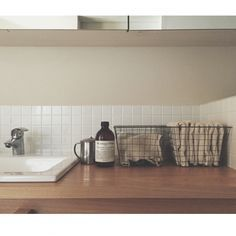 工夫次第で好印象☆洗面所のタオルの美しい置き方   RoomClipMag