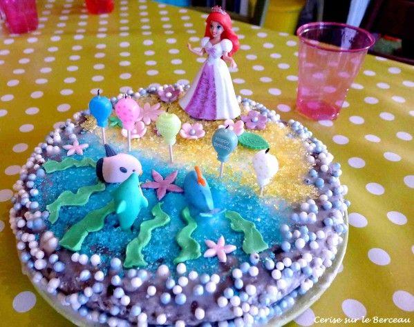 1000 id es sur le th me anniversaire th me petite sir ne - Decoration gateau anniversaire fille princesse ...