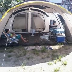 c5cba5206 Barraca de Camping 6 Pessoas Quechua T6.2 Air em Promoção - Decathlon