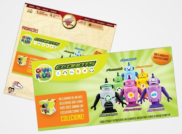 ChinaInBox - Desenvolvimento de Arte para Brindes ChinaKids em parceria com a Agência Perfil Brasil