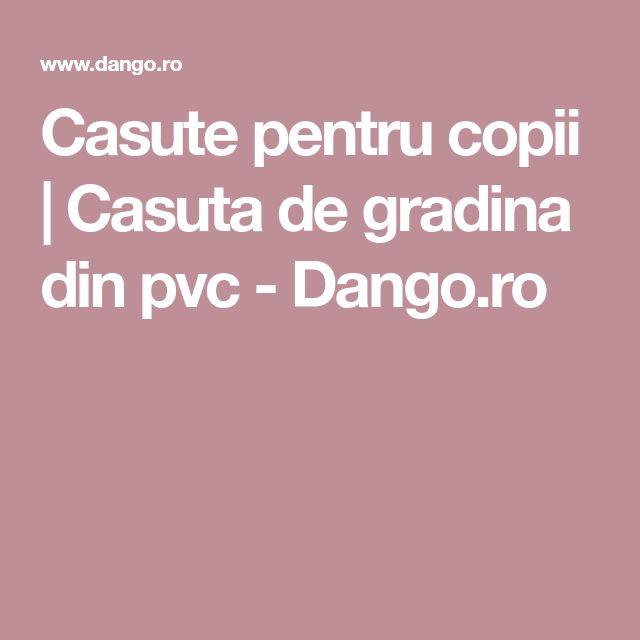 Casute pentru copii   Casuta de gradina din pvc - Dango.ro