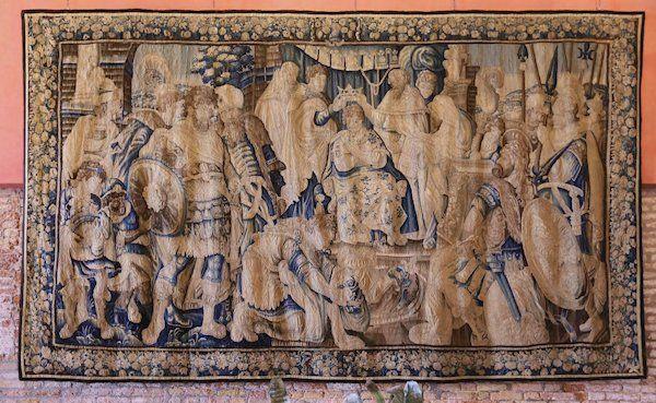 Antique Tapestry of Palladio Hotel in Venice