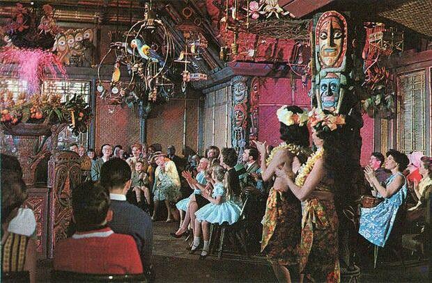 Vintage Tiki Room.