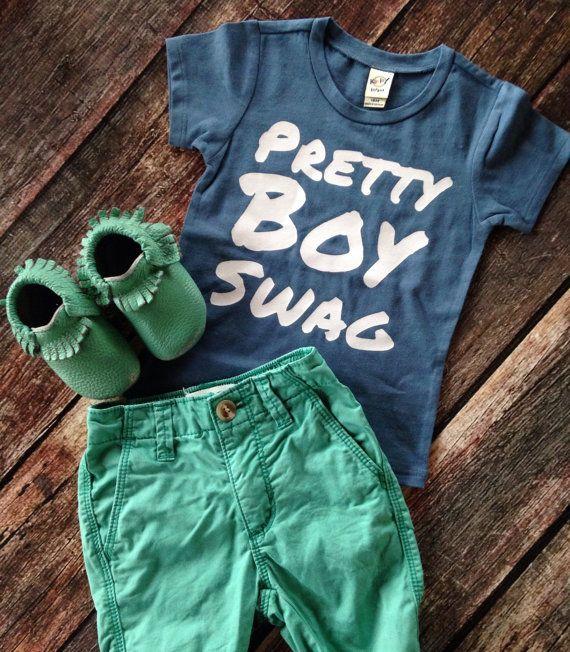 Hey, I found this really awesome Etsy listing at https://www.etsy.com/listing/231761885/pretty-boy-swag-tshirt-boys-hipster