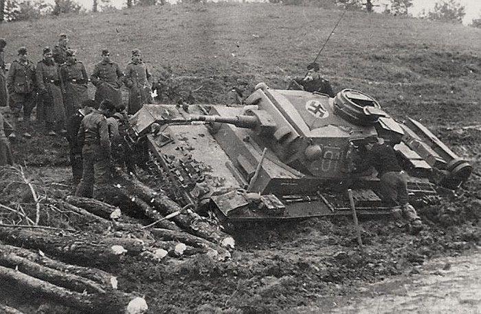 "Russian roads WW2. General-Colonel Guderian: ""If Russians were German roads, ... We'd won the war. """