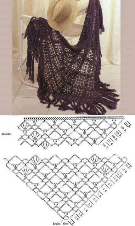 237 best Tejidos images on Pinterest | Crochet clothes, Crochet ...