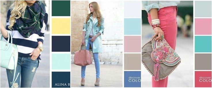 Descubre qué colores podemos usar para combinar diferentes colores en un mismo estilismo