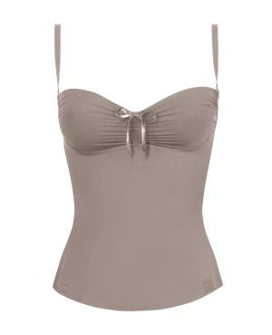 Grace & Wilde Luxury Shapewear - The Bustier from the Premiere Collection in Hot in Chocolate