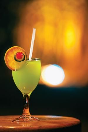 Bamboo Duppy Cocktail: With 7 kinds of booze this Jamaican cocktail packs quite a punch.