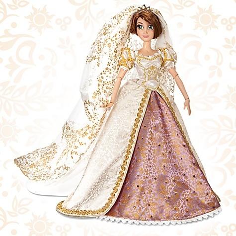 DISNEY Tangled Ever After Limited Edition Rapunzel Wedding ...