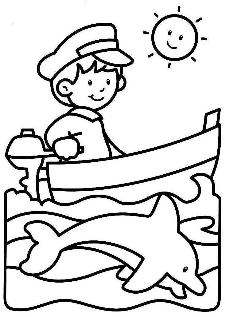 390 best images about summer for Cute summer coloring pages