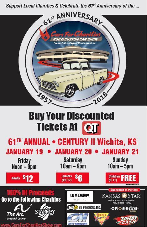 Cars For Charities Rod Custom Car Show January Th Th And - Starbird car show wichita