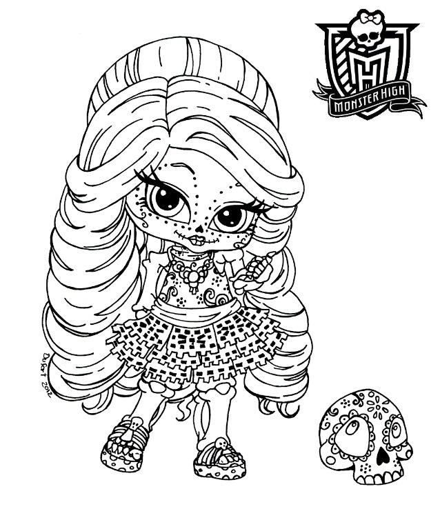 Monster High Baby Skelita Calaveras