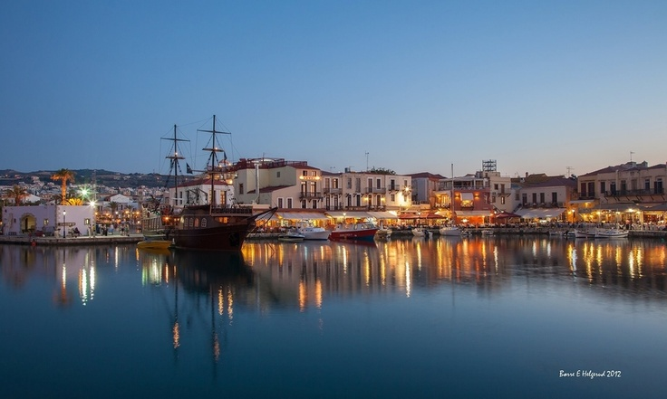Rethymnon, Greece. Lovely evening! by Børre Eirik Helgerud  Really want to visit Crete.