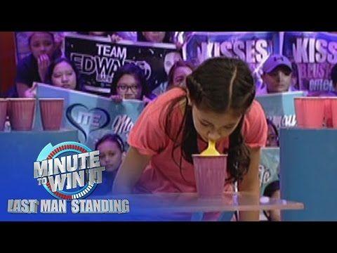 Balloon Pyramid Minute To Win It Last Teen Standing Youtube