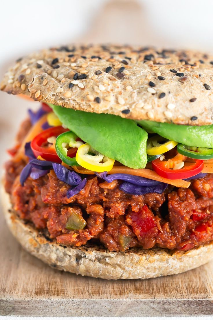 These delicious sloppy joes are vegan, super easy to make and require less than 30 minutes. I think they are the best sandwiches I've ever tried!