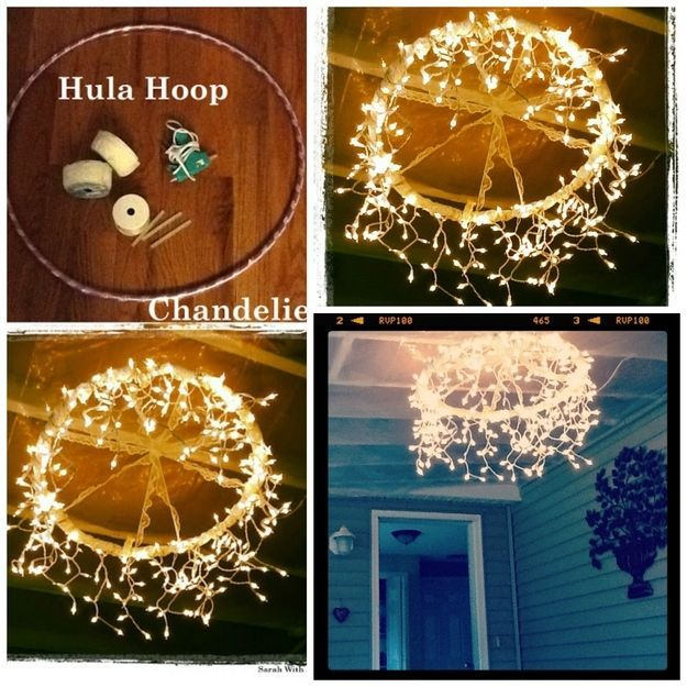 How To Make A Chandelier From A Hula Hoop Pictures, Photos, and Images for Facebook, Tumblr, Pinterest, and Twitter