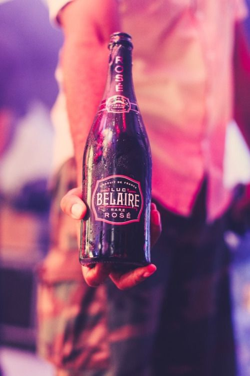 Luc Belaire, world famous rose.