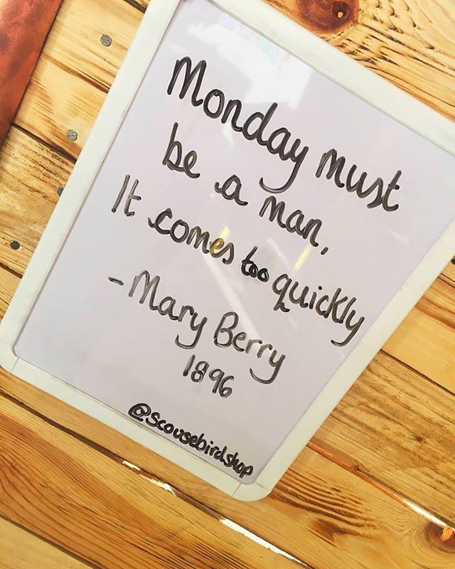 Well said Mary girl.