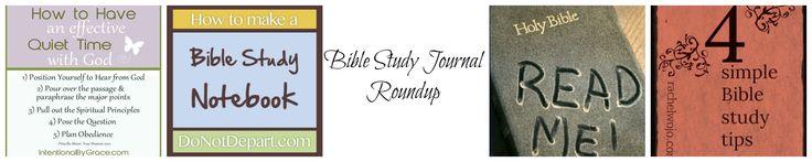 Bible Study Journal Roundup   The BarnPrincess