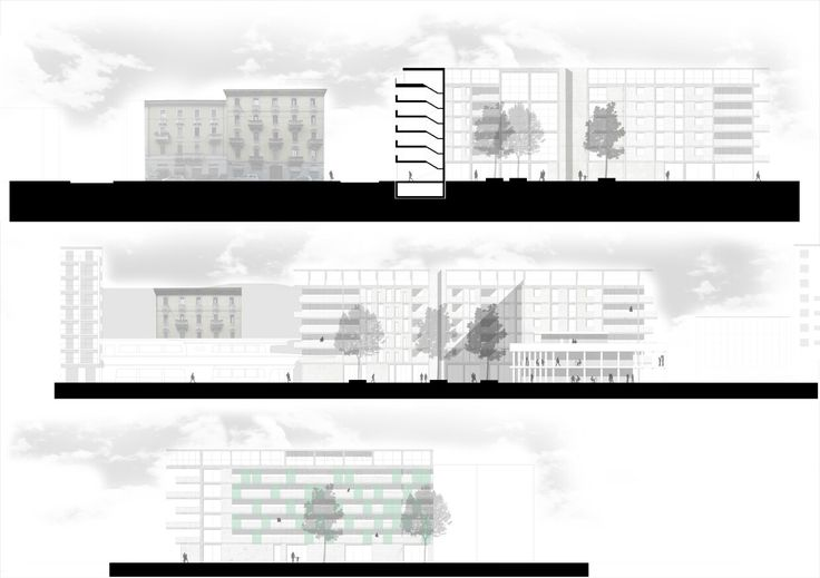 """New primary element"" Social Housing in Piazzale Accursio, Milan. NamJun Kim_Politecnico di Milano"