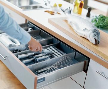 Blum Drawer organizer contemporary kitchen products