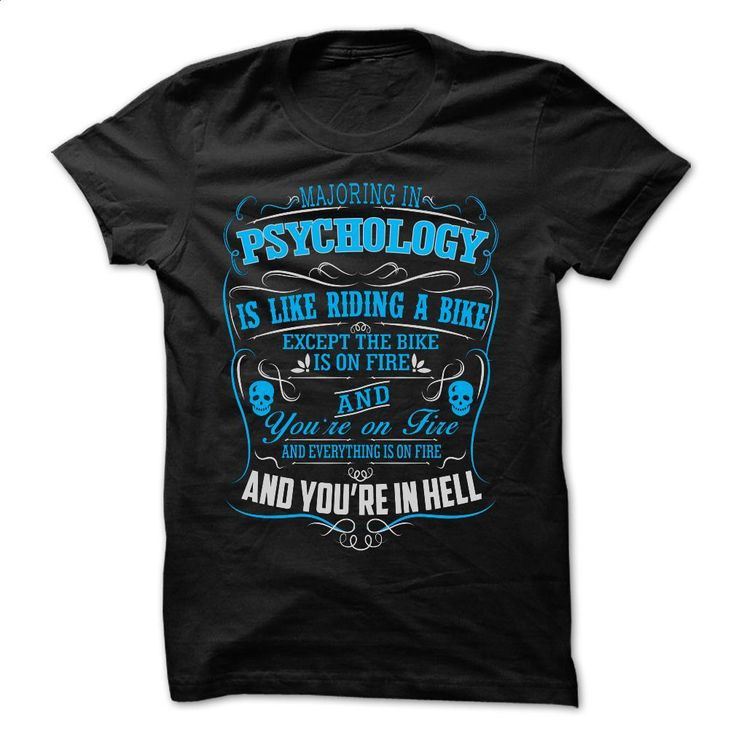 Majoring In PSYCHOLOGY T Shirts, Hoodies, Sweatshirts - #cool tshirt designs #designer shirts. CHECK PRICE => https://www.sunfrog.com/Funny/Majoring-In-PSYCHOLOGY.html?60505