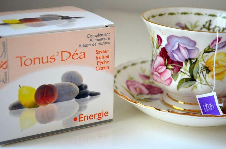 """""""Prendre soin de sa santé grâce à un sachet de thé"""". Test du complément alimentaire sous forme de thé TONUS'DÉA de Viviane Lab by Les Sens de Capucine !"""