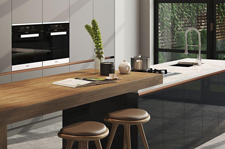 Kitchen//Extension Modern Home in Хъдърсфийлд, Англия, Великобритания on Dwell
