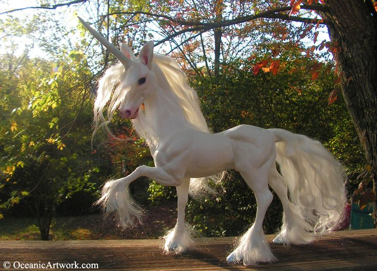 Ohhh I So Wish That He Was Real Unicorn Sculpture