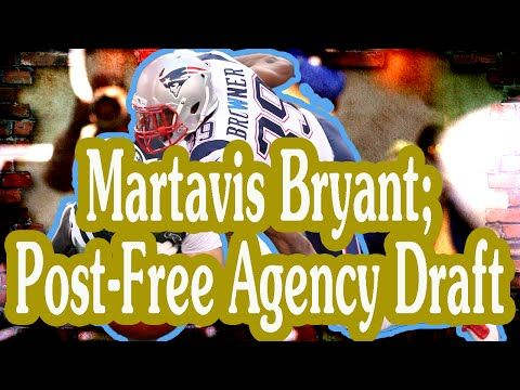 Fantasy Football Podcast - Martavis Bryant; Post-Free Agency Draft - 2016/03/17