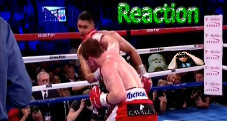 CANELO KNOCKOUT KHAN 6th RD Reaction