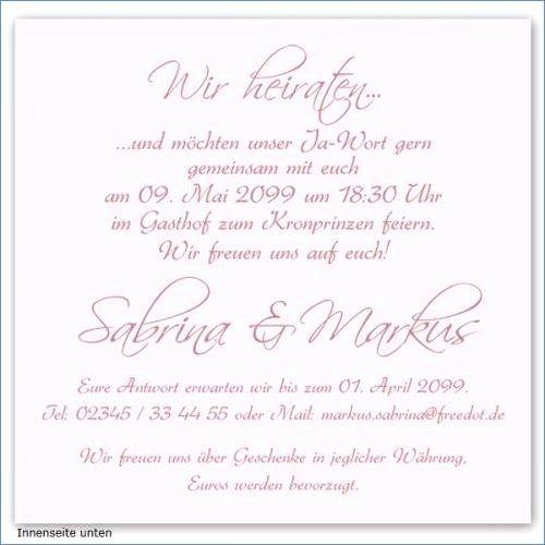 Hochzeitseinladung Standesamt   Registry office wedding