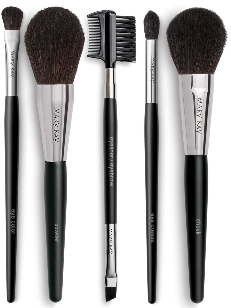I just got my new MK brush collection complete with a bag that I am now using for my makeup bag. Its awesome. These brushes are great quality and applies the makeup effortlessly! Mary Kay® Brush Collection - Brushes - Catalog - Mary Kay  Orders yours today and receive free bedazzling on each brush in your favorite color! Get these fab products at marykay.com/tiffmarie