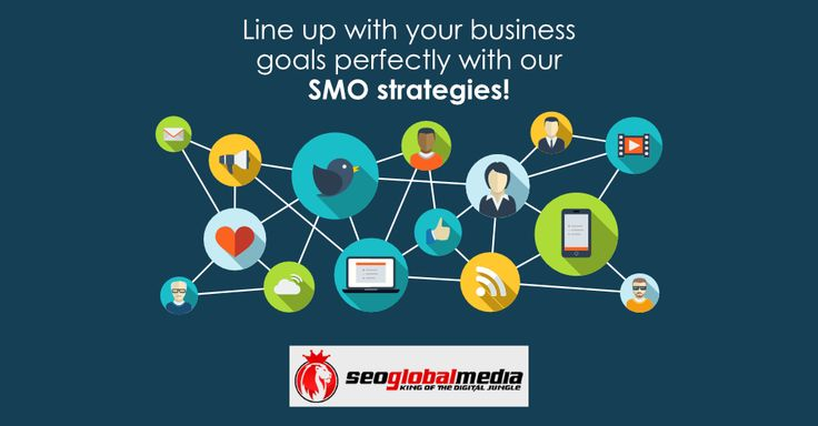 We have the #SMO strategies that will line up with your business goals perfectly! http://www.seoglobalmedia.com/services/
