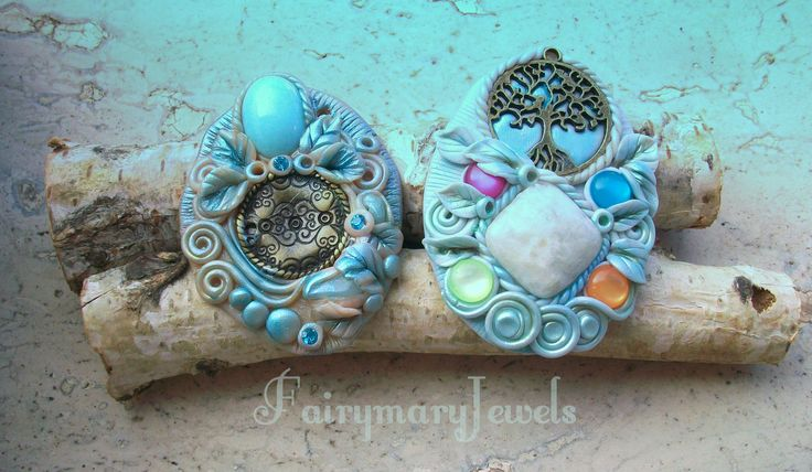 Artisan clay jewels