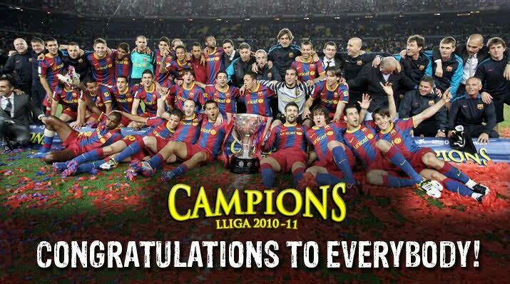2010/2011 champions