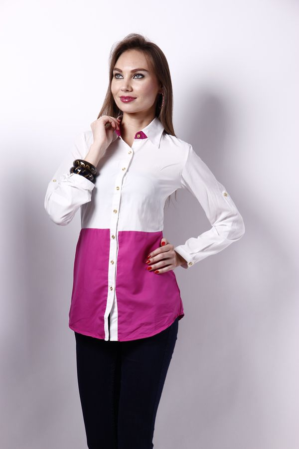 Pink white combination give a attractive finine touch to your personality. buy the must need one for you @ 799 shop today at www.snapdeal.com