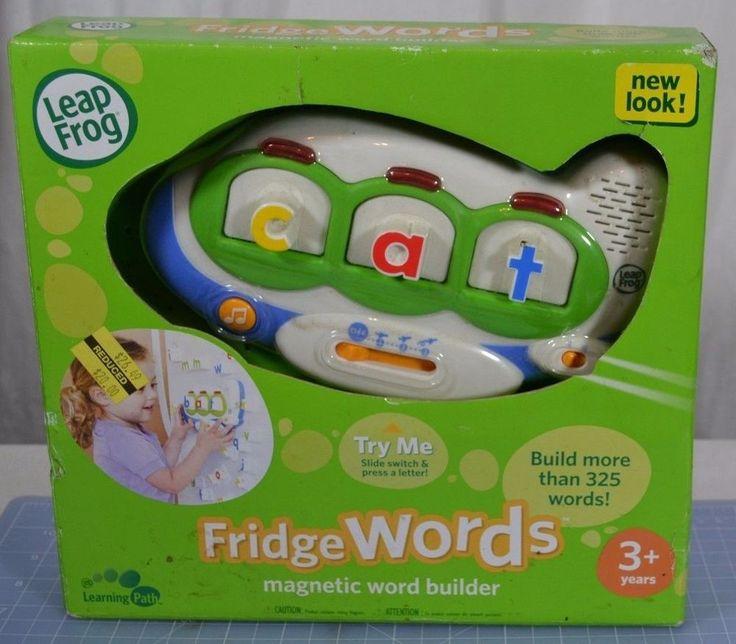 Leap Frog Fridge Words - Sealed Package - Magnetic Word ...