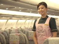 Hello Kitty- Taiwan Airlines