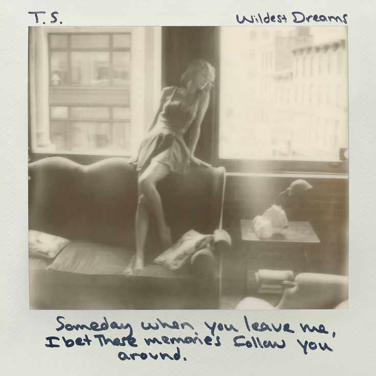 Caratula Frontal de Taylor Swift - Wildest Dreams (Cd Single)